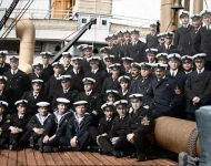 Hospital Ship WWI Crew and including Sickberth Staff